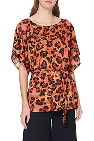 French Connection Damen Bayer Crepe Light Belted TOP Bluse