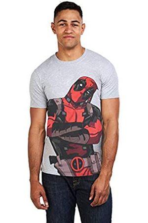 Marvel Herren Deadpool Talking T-Shirt