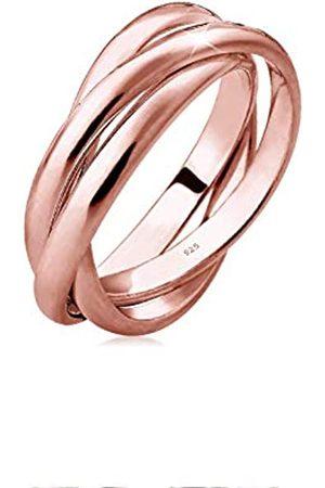 Elli Elli Ring Damen Wickelring Basic in 925 Sterling Silber
