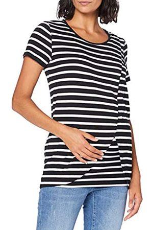 Mama Licious Damen Shirts - Damen MLOLINA IRIS SS Jersey TOP NF A. T-Shirt, Black