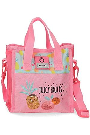 Enso Enso Juicy Fruits Handtasche Mehrfarbig 20x22x10 cms Polyester