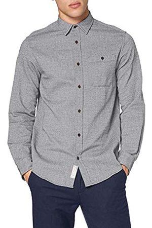JACK & JONES Herren Lange Ärmel - Herren JJBARRET Shirt LS Hemd