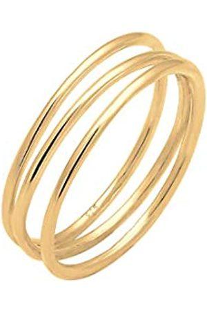 Elli Elli Ring Damen Wickelring Filigran in 925 Sterling Silber
