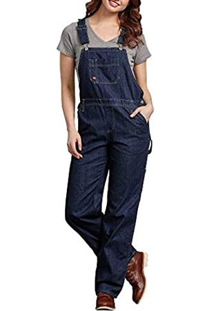 Dickies Dickies Women's Bib Overall, Dark Indigo Black
