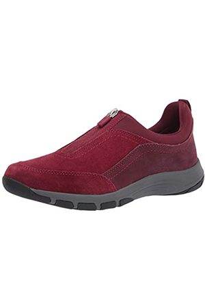 Easy Spirit Women's Cave Sneaker, Red 600