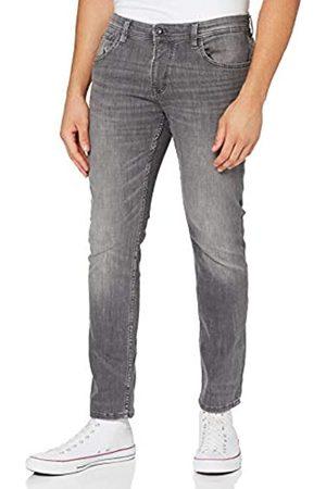 TOM TAILOR Herren Straight - Herren Aedan Straight' Jeans, (10219-used mid Stone Grey)