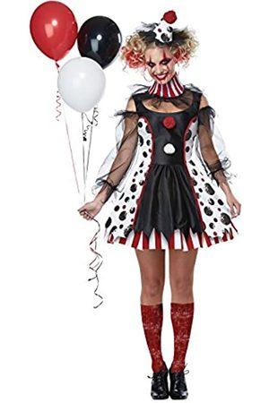 California Costumes Damen Twisted Clown Kostüm - - Medium