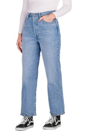 Levi's Damen Straight - Ribcage Straight Ankle 27 Jeans