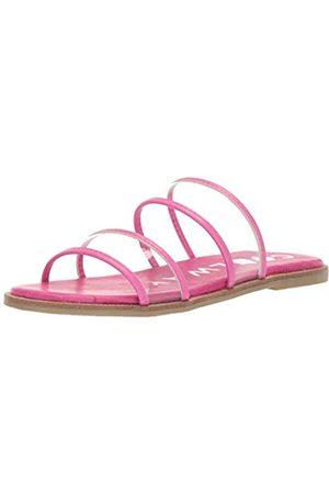 Coolway Merci Slide Damen Sandale, Pink (Fux)