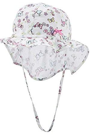Döll Mädchen Hüte - Mädchen Sonnenhut mit Nackenschutz Mütze 