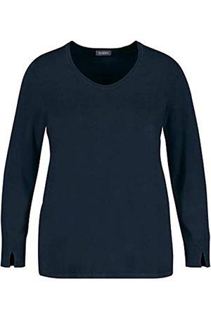 Samoon Damen Basic Pullover leger 52