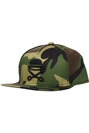 Cayler & Sons Cayler & Sons Unisex-Adult Snapback PA ICON Woodland Black, Size:ONE Size Cap