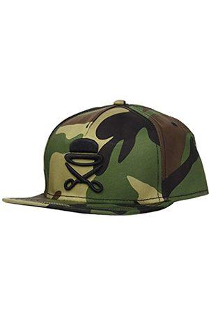 Cayler & Sons Herren Caps - Unisex-Adult Snapback PA ICON Woodland Black, Size:ONE Size Cap