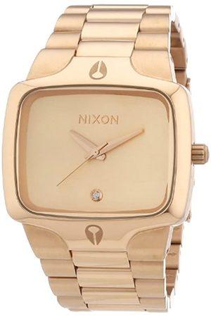 Nixon Herren-Armbanduhr The Player All Rose Analog Quarz Edelstahl beschichtet A140897-00
