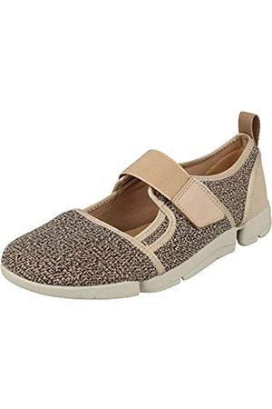 Clarks Damen Tri Amelia Bar Slip On Sneaker, (Blush)