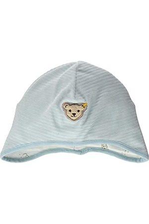 Steiff Baby-Jungen mit süßer Teddybärapplikation Mütze
