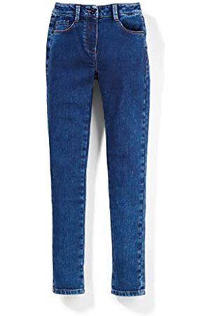 s.Oliver S.Oliver Mädchen Skinny Fit: High Waist-Jeans dark blue 152.SLIM
