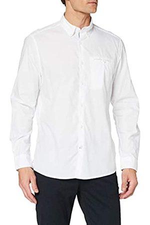 Pioneer Pioneer Herren Shirt Longsleeve solid Hemd mit Button-Down-Kragen