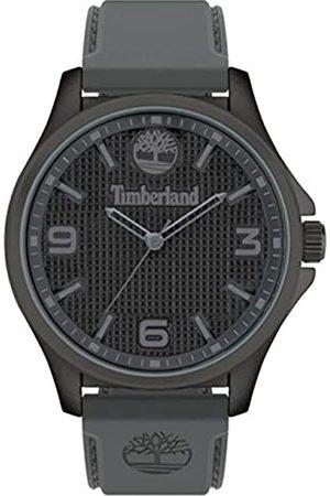 Timberland Herren Analog Quarz Uhr mit Silicone Armband TBL15947JYU.13P