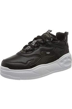 Buffalo Damen Flat XTR Sneaker, Black