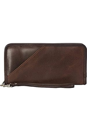 Piel Piel Leder Vintage Executive Travel Wallet - 3040-BRN