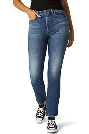 Lee Lee Damen Relaxed Fit Straight Leg Ankle Jeans