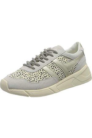 Gola Damen Eclipse Savanna Sneaker, Off-White Gepard
