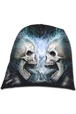 Spiral Unisex Flaming Spine-Light Cotton Beanies Strickmütze
