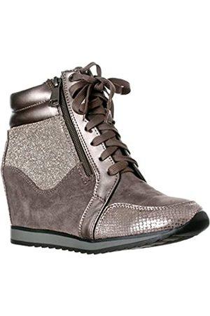 Forever Link Damen Shea-42 Fashion Wedge Sneaker