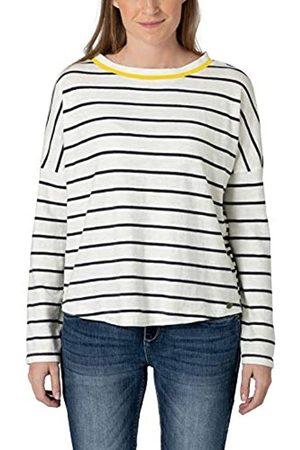 Timezone Damen Sweatshirts - Damen Striped Knit Pullover
