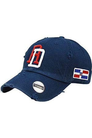 PeligroSports Verstellbare Vintage-Kappe Dominikanische Republik RD und Schild - - Einheitsgröße