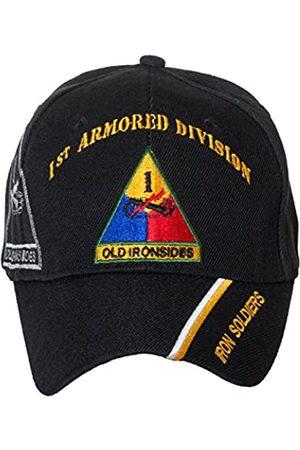 Artisan Owl Offiziell lizenzierte US Army Armored Division Baseballkappe, bestickt