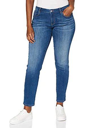 TOM TAILOR TOM TAILOR Damen Alexa Slim Jeans, 10152-Mid Stone Bright Blue