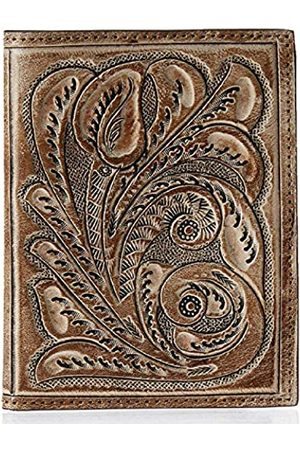 Mauzari Sayulita Mauzari Reisepasshülle aus Leder für Damen und Herren — Reisebrieftasche mit Blumenmuster und Paisleymuster