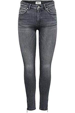 Only ONLY Female Skinny Fit Jeans ONlKendell Life Reg Ankle 2632Medium Grey Denim