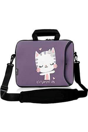 RICHEN Laptop/Chromebook/Ultrabook/MacBook Pro Air Notebook PC Messenger Bag Tablet Reisetasche Neopren Griff Sleeve mit Schulter (27,9–33,8 cm (11–13,3 Zoll)