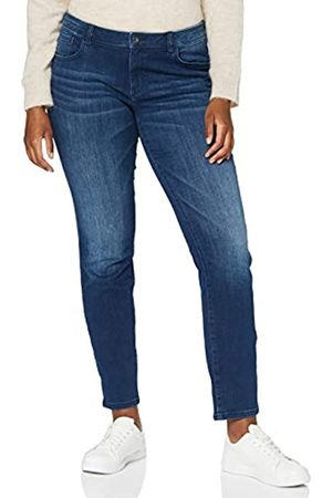 TOM TAILOR TOM TAILOR Damen Alexa Slim Jeans, 10281-Mid Stone Wash Denim