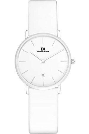 Danish Design Danish Design Damen Analog Quarz Uhr mit Leder Armband IV12Q1030
