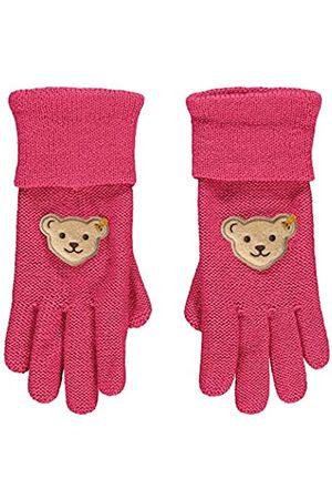 Steiff Mädchen mit süßer Teddybärapplikation Handschuhe