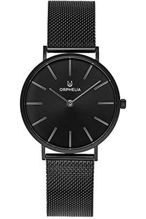 ORPHELIA Herren Analog Quarz Uhr mit Edelstahl Armband OR62809