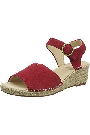 Hotter Damen Fiji Sandale mit Absatz, -Tango Red