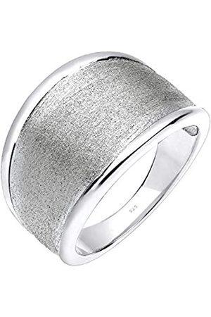 Elli Elli Ring Damen Basic Matt Trend in 925 Sterling