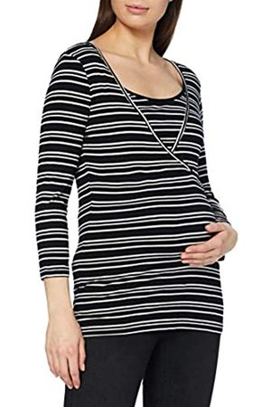 Mama Licious Damen Mlgabi Org Tess 3/4 Top 2 Pack Nf A. T Shirt