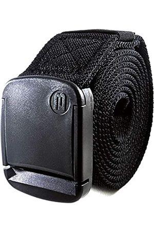 BETTA 3,8cm breiter elastischer Stretch-Gürtel für Herren mit ultra-starker