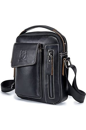 BULLCAPTAIN Herren-Handtasche aus echtem Leder