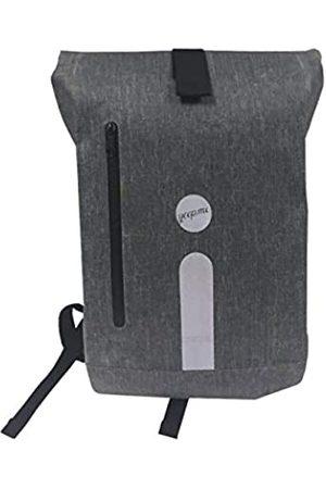 yeep.me Yeep.me B.140 Rucksack 100% wasserdicht meliert 500 Denier mit reflektierendem Band + abnehmbare Laptoptasche 38