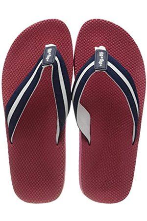 flip*flop Unisex Tex Comfy Sandale, Deep Night/Tango Red