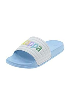 Kappa Kappa Unisex-Kinder Caserta Leichtathletik-Schuh, Azul Cielo/Rosa