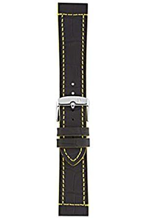 Morellato Morellato Unisex-Armband aus der Sport-Kollektion Tricking, echtes Leder, Gummi-Optik