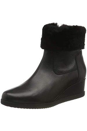 Geox Geox Damen D ANYLLA Wedge G Ankle Boot, Schwarz (Black)
